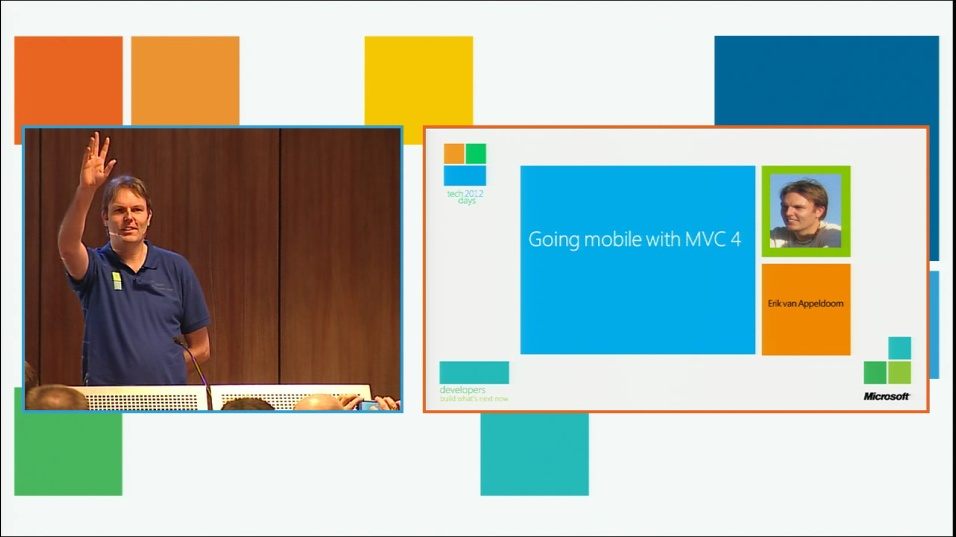 Going mobile with ASP.NET MVC 4