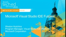 Microsoft Visual Studio IDE Futures