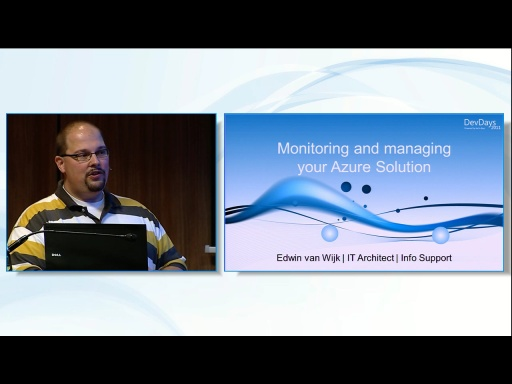 Monitoring and Managing your Azure Solution