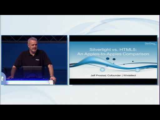 Silverlight vs. HTML5: An Apples-to-Apples Comparision