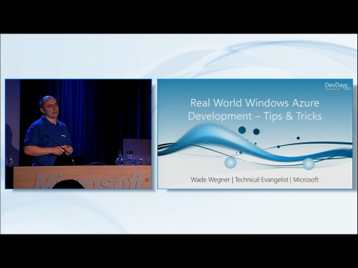 Real World Windows Azure Development Tip & Tricks