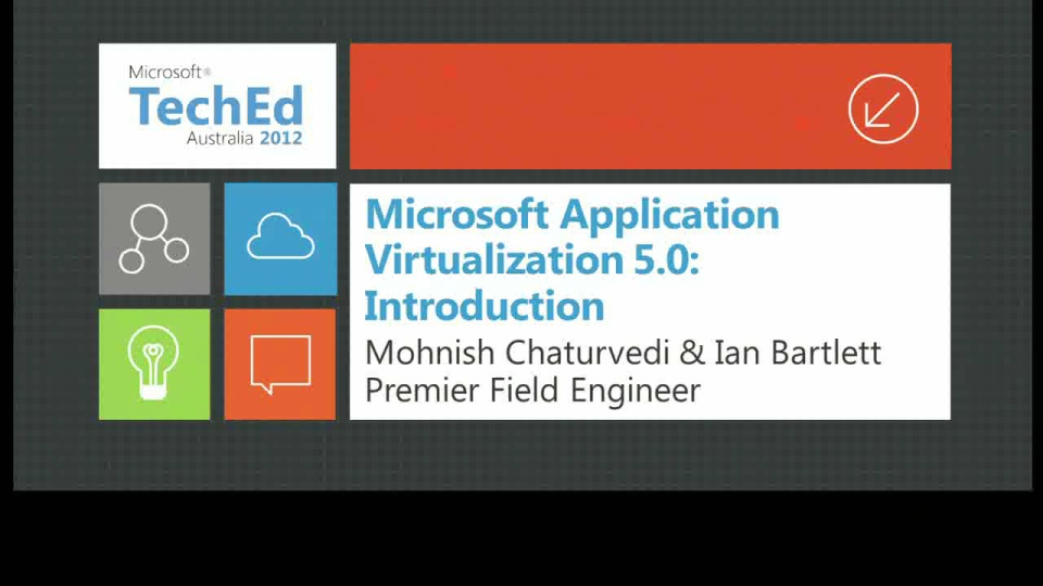 Microsoft Application Virtualization 5.0: Introduction