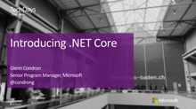 Introducing .NET Core: Building cross-platform and native executables in .NET (en)