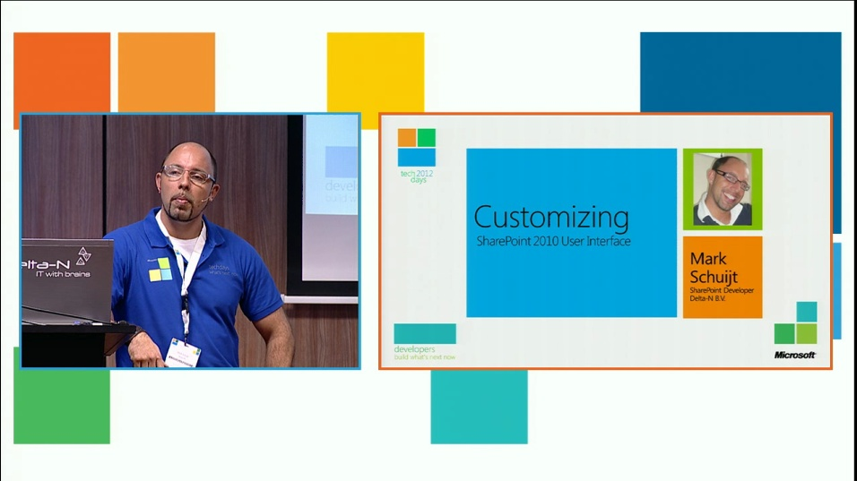 Customizing SharePoint 2010 UI