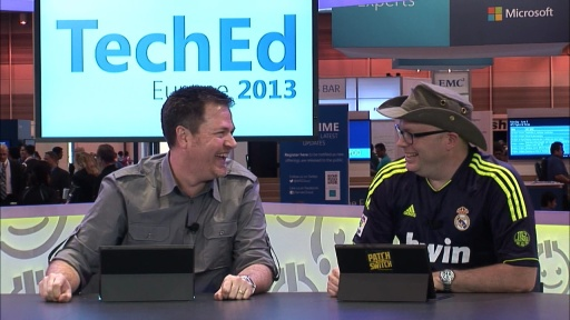 Countdown to TechEd: All about TechEd Europe in person activities