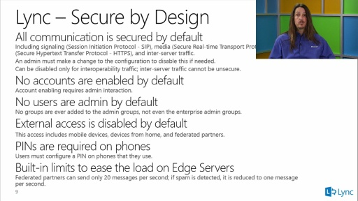 Securing Lync Deployments