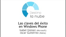 Destino la nube. Las claves del éxito en Windows Phone