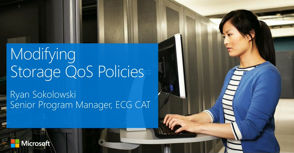 Storage QoS - Modify Policies