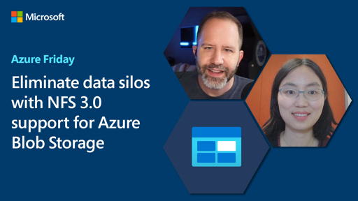Eliminate data silos with NFS 3.0 support for Azure Blob Storage