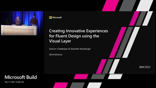 Creating Innovative Experiences for Fluent Design using the Visual Layer