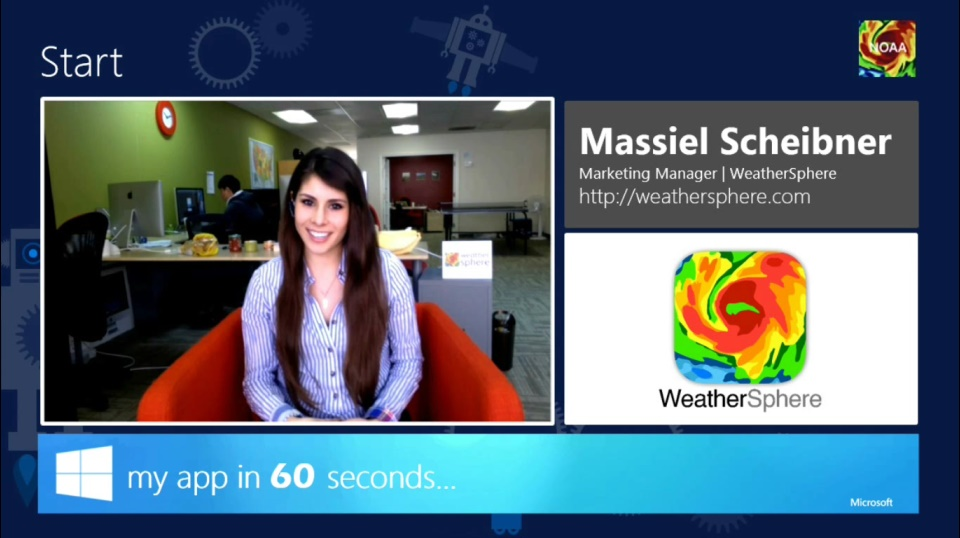 My App in 60 Seconds: WeatherSphere