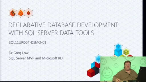 Demo: Declarative Database Development with SQL Server Data Tools
