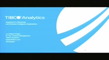 Applying R in streaming and Business Intelligence applications