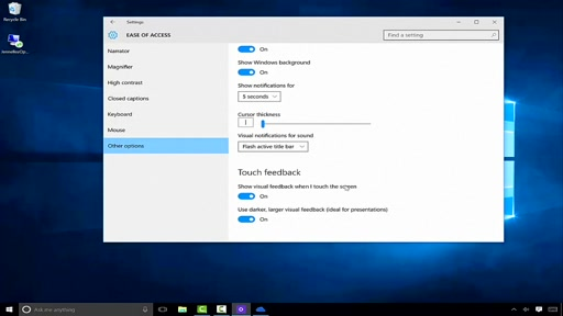 Windows 10: Usability and Ease of Access
