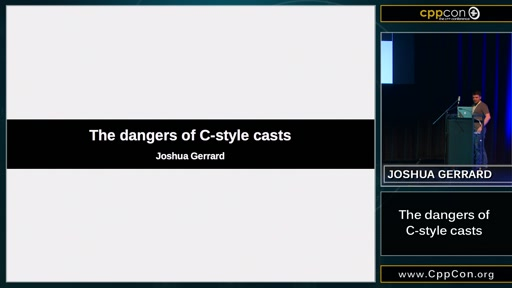 The dangers of C-style casts