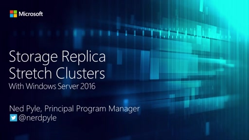 Storage Replica in Windows Server 2016