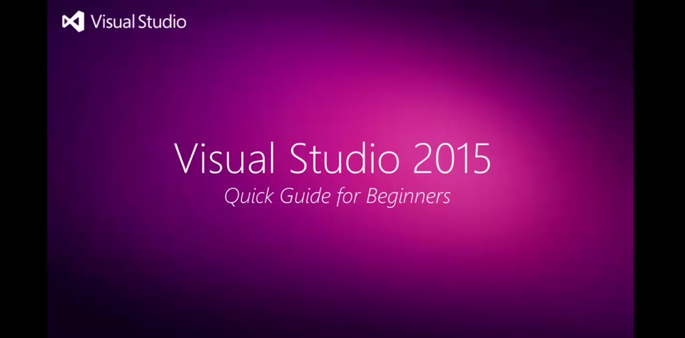 Getting Started With VS2015 | Developer Command Prompt