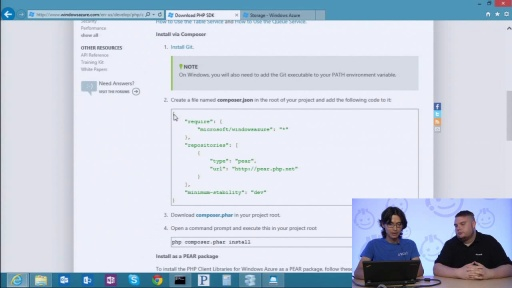 Windows Azure SDK for PHP with Anton Babadjanov