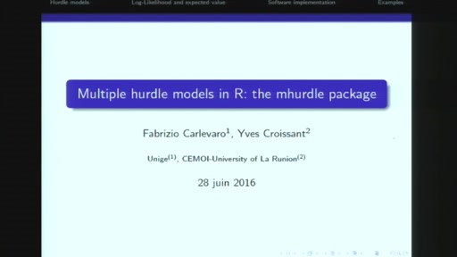 Multiple Hurdle Tobit models in R: The mhurdle package