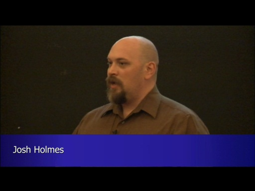 Welcome to WebMatrix Event In Ireland - Josh Holmes (Part 1 of 4)