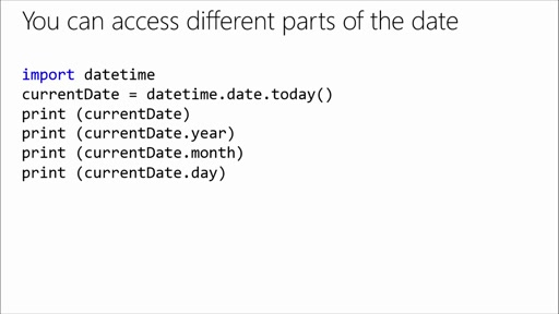 Introduction to Programming with Python: (05) Working with Dates and Time