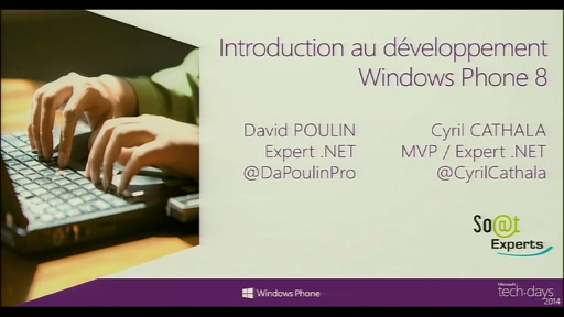 Introduction au développement Windows Phone 8