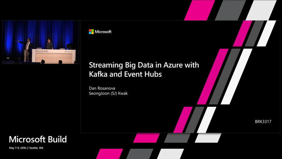 Streaming big data in Azure with Kafka and Event Hubs