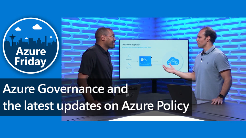 Azure Governance and the latest updates on Azure Policy