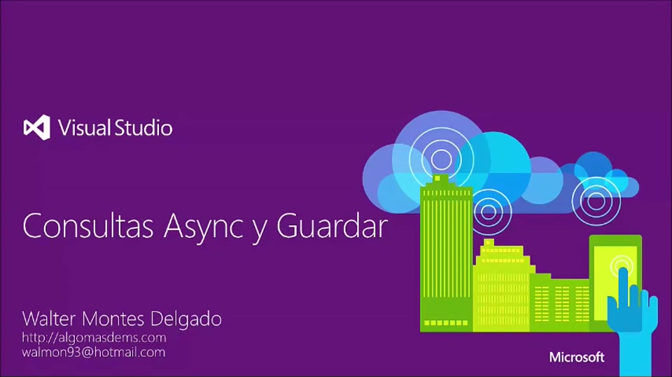#100devdays Consultas Async y Guardar
