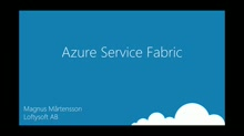 Distributed Computing made easy with Azure Service Fabric