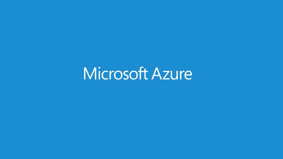 Sign up for Microsoft Azure