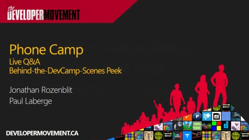 Live Q&A and Behind-the-DevCamp-Scenes
