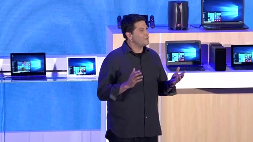 Microsoft's Vision for Creating More Personal Computing with Windows 10 at COMPUTEX 2016