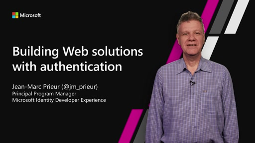 Building Web App Solutions With Authentication