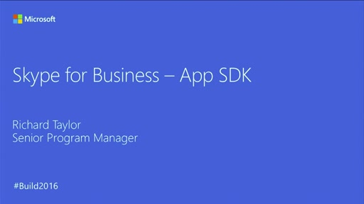 Introducing the Skype for Business SDK for iOS and Android
