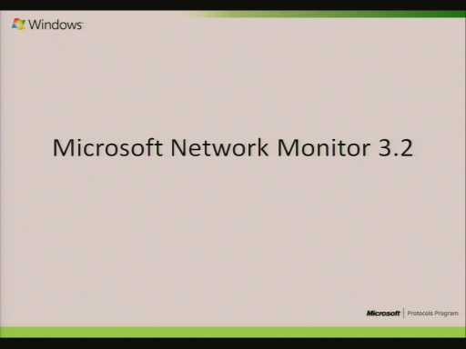 Network Monitor 3.2 (Netmon) Protocol Analysis