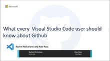 What every Visual Studio Code user should know about GitHub