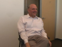 Steve Ballmer - Quick chat with Microsoft's CEO