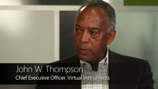 Director Video Series: John W. Thompson shares insights and experiences as Microsoft Director