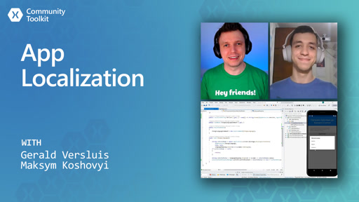 App Localization (Xamarin Community Toolkit)