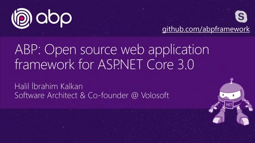 ABP: Open source web application framework for ASP.NET Core 3.0