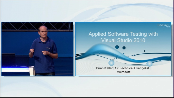 Applied Software Testing with Visual Studio 2010
