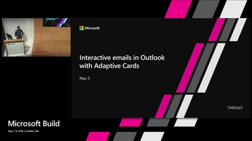 Interactive emails in Outlook with Adaptive Cards