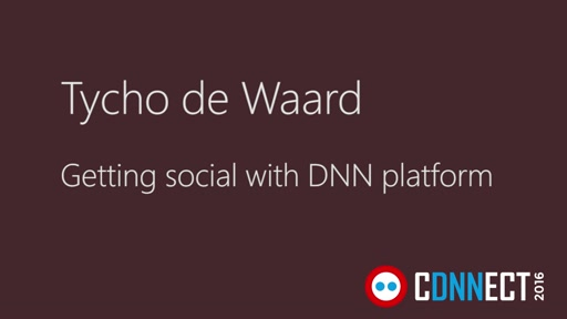 Getting social with DNN platform