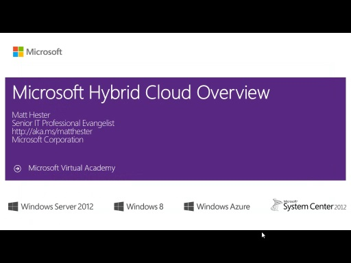 (Module 1) The ​Microsoft Hybrid Cloud - Overview