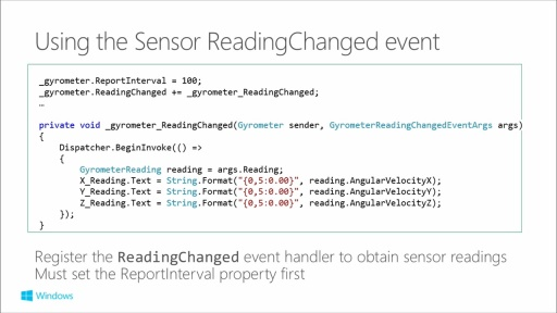 Building Apps for Windows Phone 8.1: (15) Sensors and Proximity: NFC and Bluetooth
