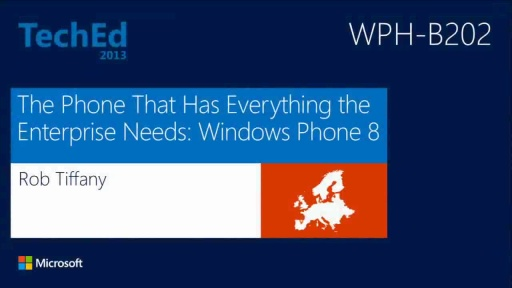 The Phone That Has Everything the Enterprise Needs: Windows Phone 8