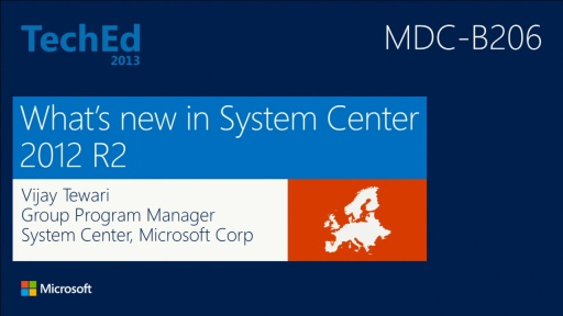 Introduction to System Center 2012 R2