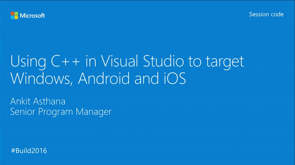 Building Cross-Platform Mobile Apps in C++ with Visual