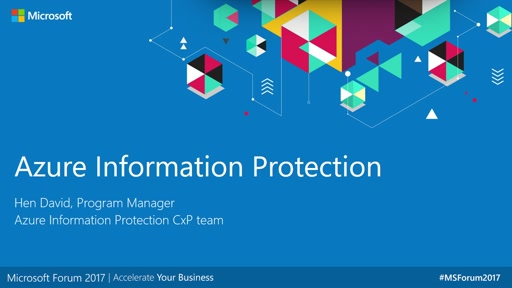 Teatro Security - Azure Information Protection
